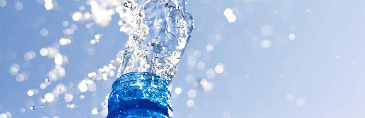 plastico botella de agua
