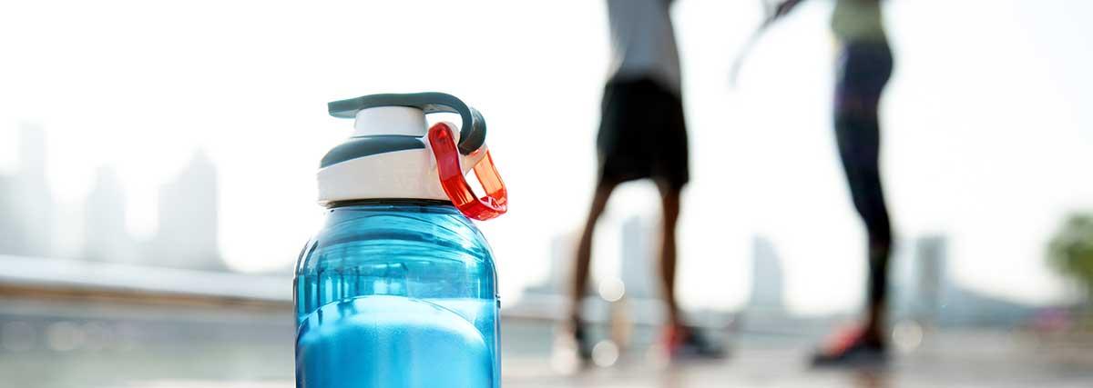 botella de agua deporte