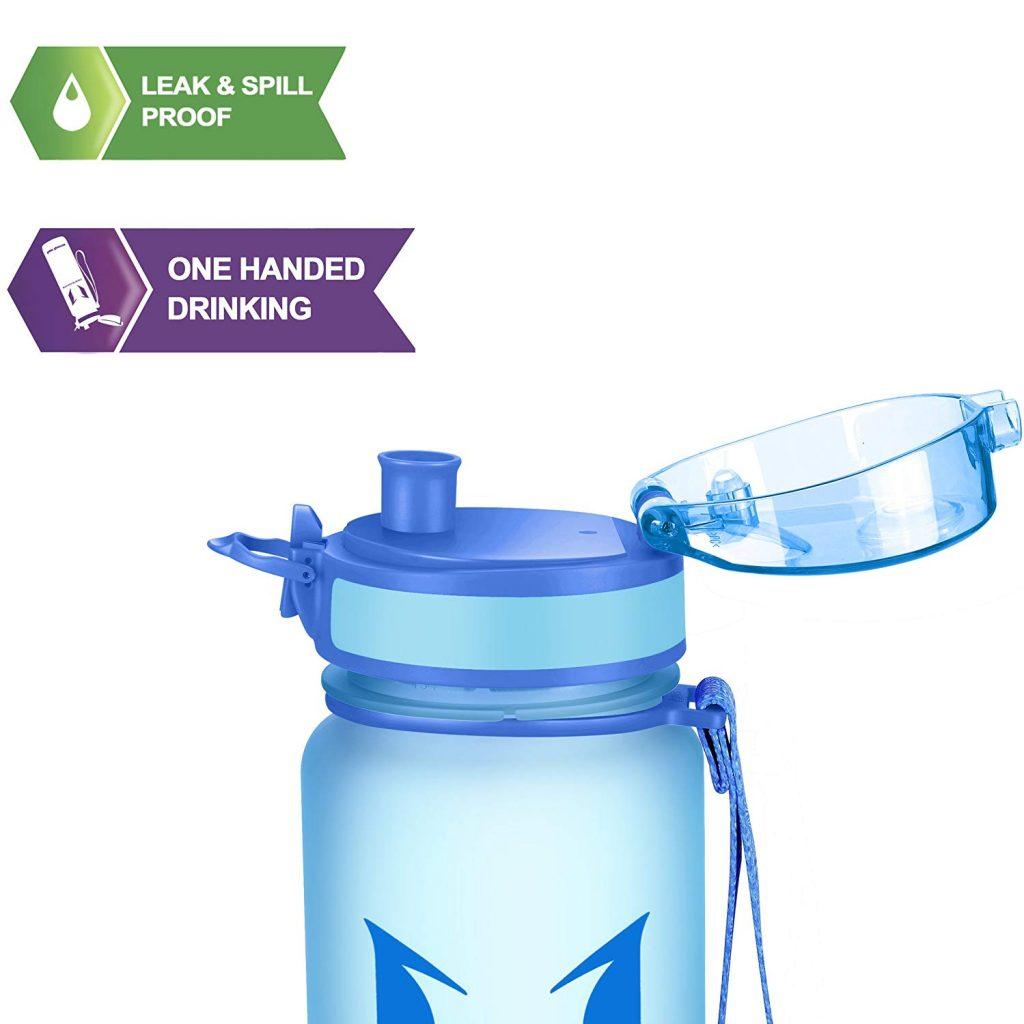 Botella de agua para deportes y aire libre