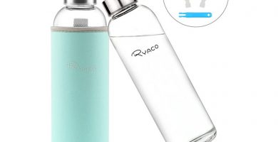 botella de agua de vidrio Ryaco