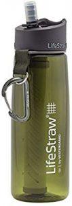 botella con filtro de agua LifeStraw Go 2