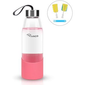 Ryaco botella de agua cristal 500 ml