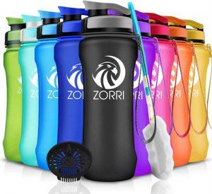 Botella de agua deportiva Zorri