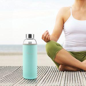 ofertas botella de agua de cristal