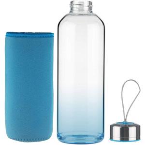 botella de vidrio barata
